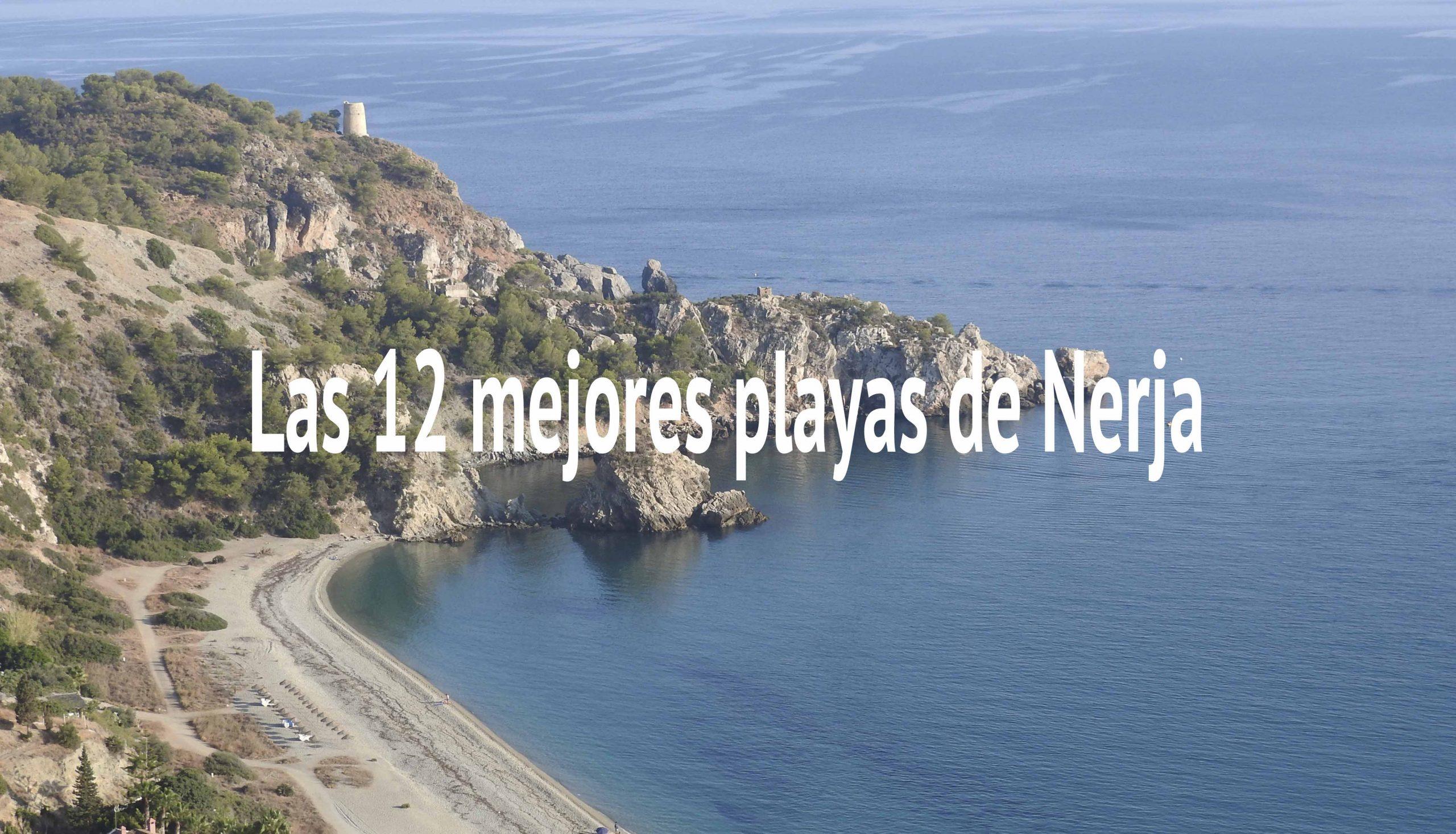 Playas de Nerja para disfrutar del verano